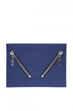 Leather clutch od Kenzo