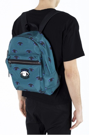 Patterned backpack with patch od Kenzo