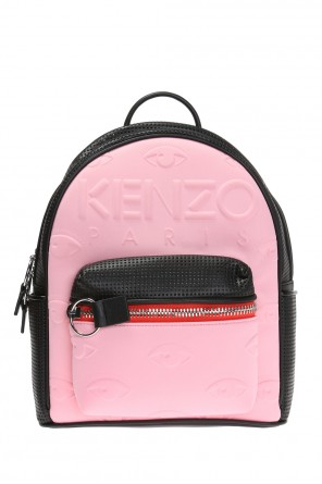 'kombo' eye motif backpack od Kenzo