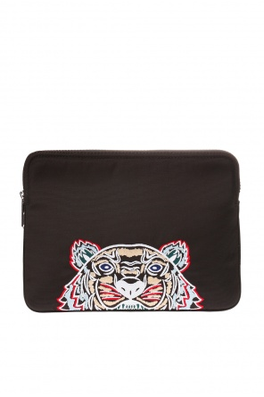 Ipad case with tiger head motif od Kenzo