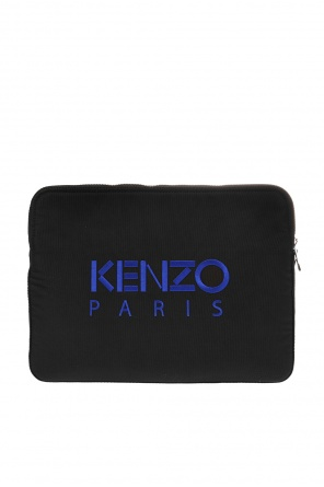 Laptop case with tiger head motif od Kenzo