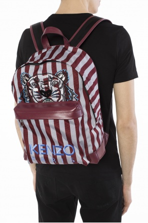 Tiger head motif backpack od Kenzo