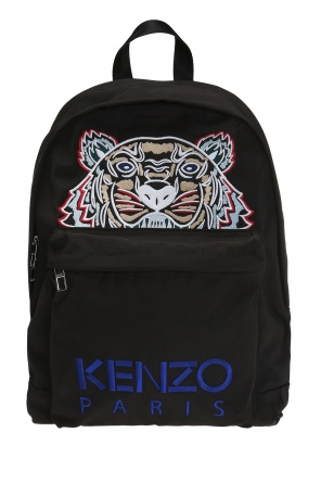 Backpack with tiger head motif od Kenzo