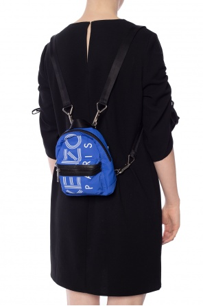 Backpack with a printed logo od Kenzo