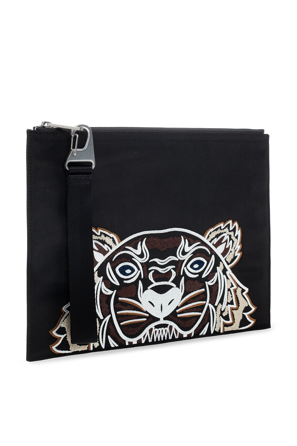 Kenzo Logo-embroidered clutch