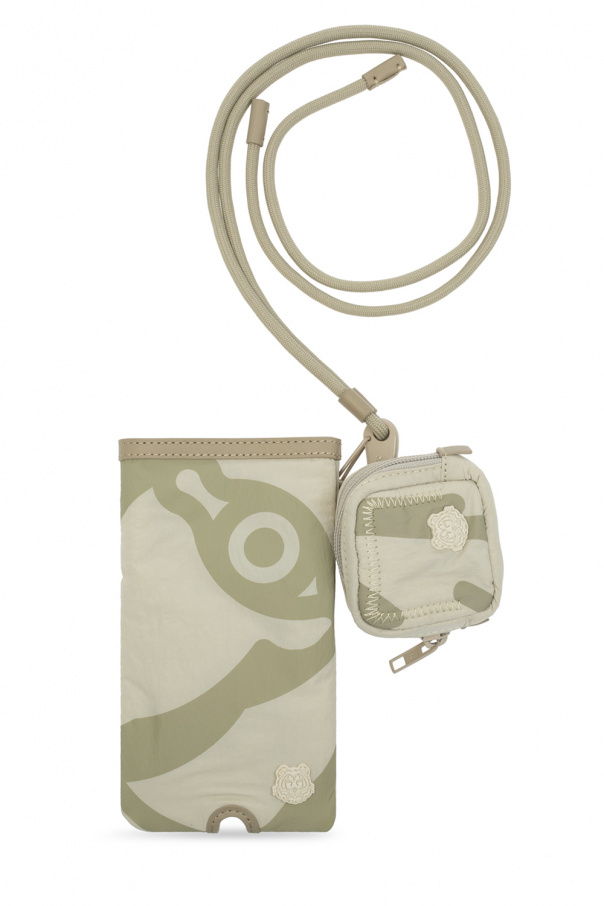 Kenzo Phone pouch with strap