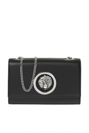 Leather shoulder bag od Versace Versus