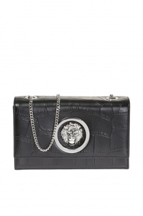 Shoulder bag with metal logo od Versace Versus