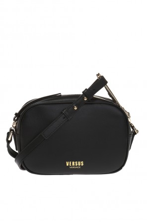 Logo-embossed shoulder bag od Versace Versus