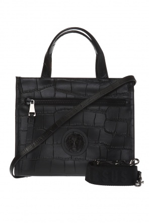 Lion motif shoulder bag od Versace Versus