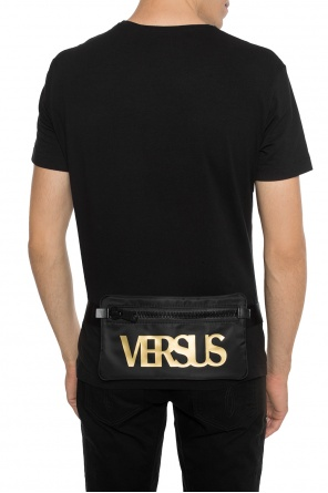 Waist bag with a print and logo od Versace Versus