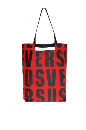 Printed shopper bag od Versace Versus