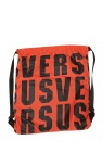 Logo-printed backpack od Versace Versus