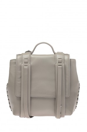 'fin' leather backpack od AllSaints