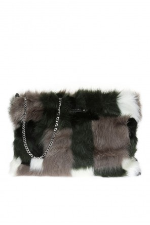 'furry-clutch' shoulder bag od Diesel