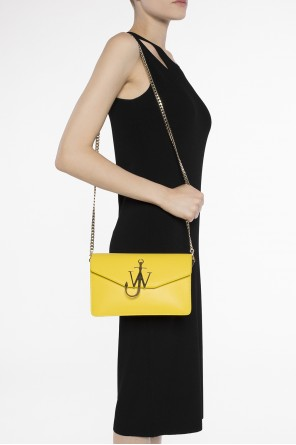 Metal logo shoulder bag od J.W. Anderson