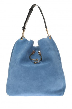 Suede shoulder bag od J.W. Anderson