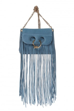 'pierce' fringed shoulder bag od J.W. Anderson