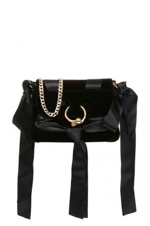 Velvet shoulder bag od J.W. Anderson