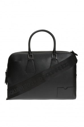 Logo-embossed briefcase od Dsquared2