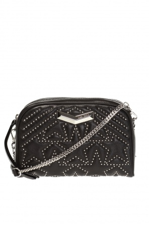'helia' quilted shoulder bag od Jimmy Choo