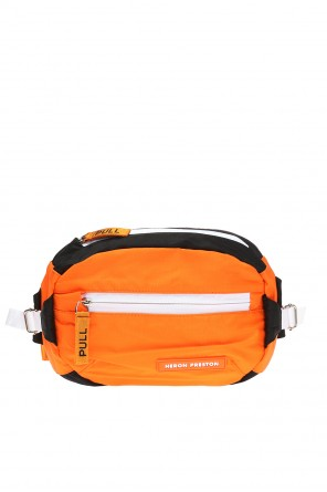 Waist bag with a logo od Heron Preston