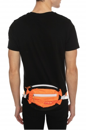 Belt bag with raised appliqué od Heron Preston