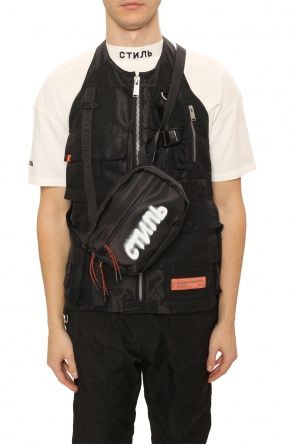 Printed shoulder bag od Heron Preston