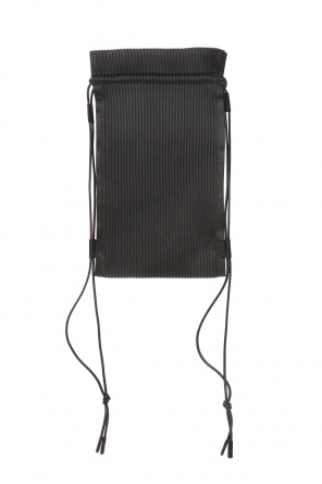 Pinstriped backpack od Homme Plisse Issey Miyake