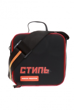 Branded shoulder bag od Heron Preston