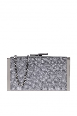 'j box' chained clutch od Jimmy Choo