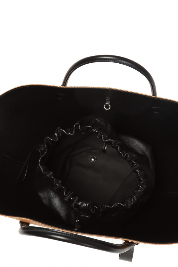 'sombrero' shopper bag od JIL SANDER
