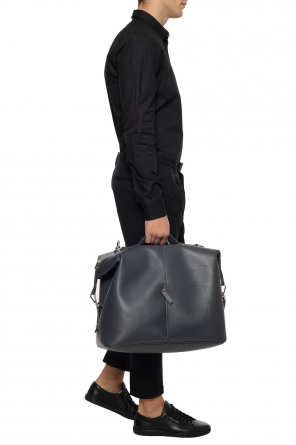 Leather holdall bag od JIL SANDER