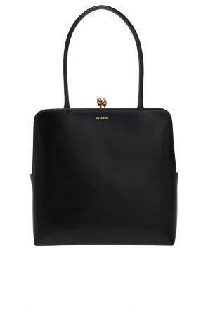 Handbag with logo od JIL SANDER