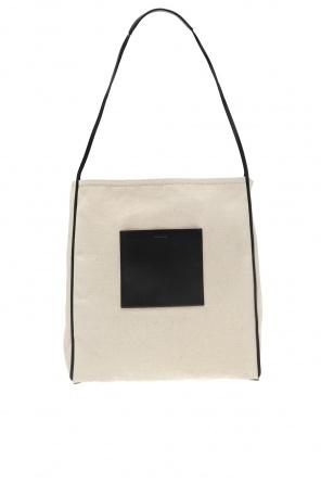 Shoulder bag with logo od JIL SANDER