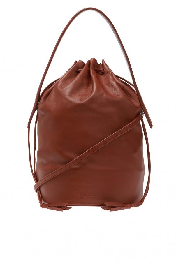 JIL SANDER Logo shoulder bag