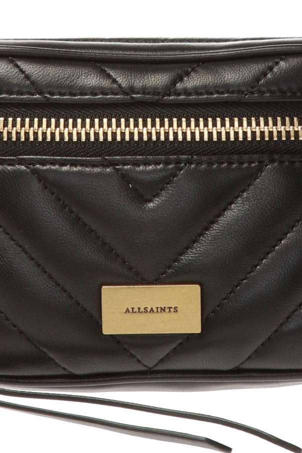 'justine' quilted belt bag od AllSaints