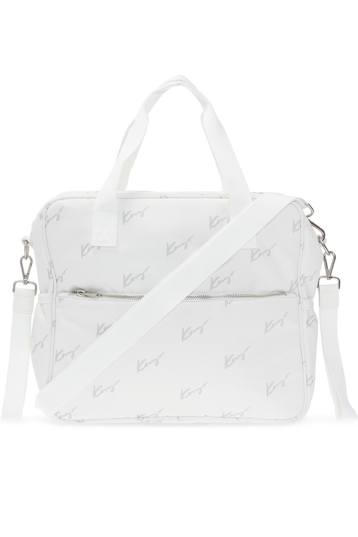 Kenzo Kids Diaper bag with mat
