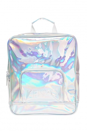 Logo-embossed backpack od Kenzo Kids