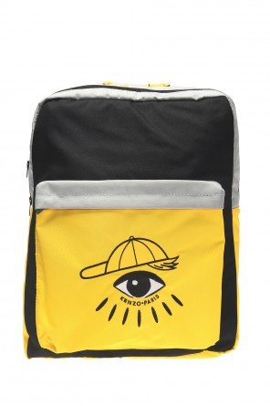 Backpack with an embroidered eye motif od Kenzo Kids