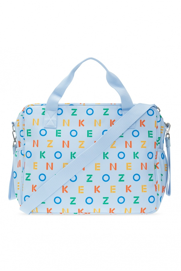 Kenzo Kids Changing bag with logo