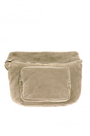 Suede shoulder bag od Yeezy
