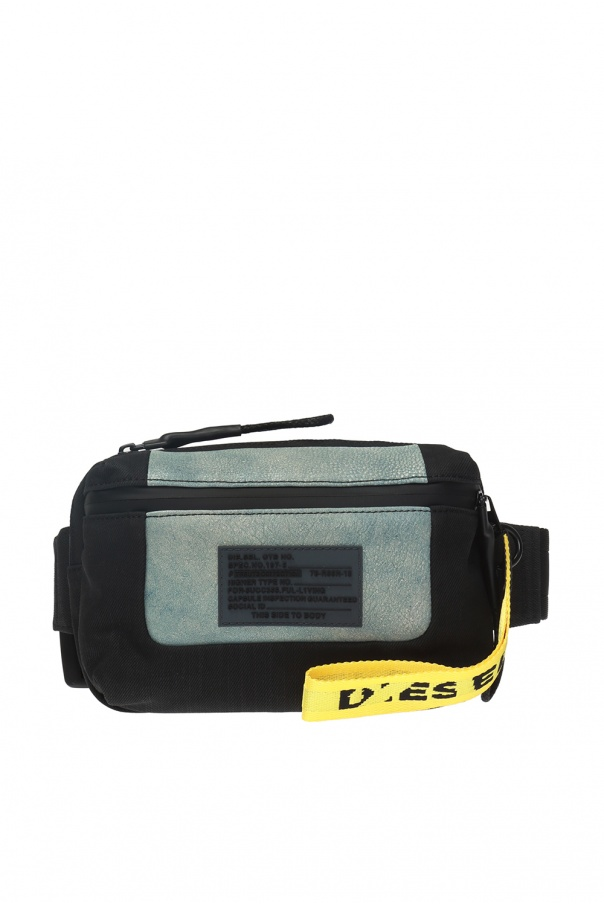 'l-tolle' waist bag with a logo od Diesel