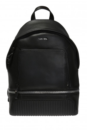 'l-zipround' backpack with logo od Diesel