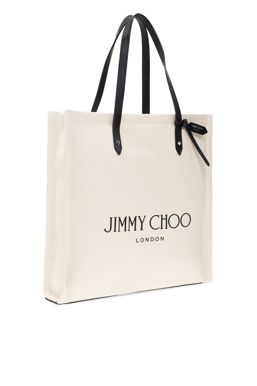 Jimmy Choo Logo托特包