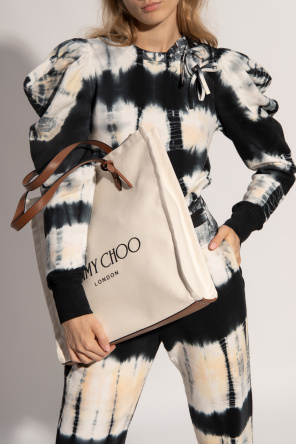 'logo' shopper bag od Jimmy Choo