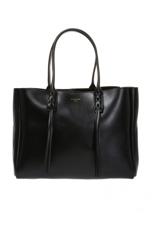 Leather shopper bag od Lanvin