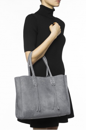 Suede shopper bag od Lanvin