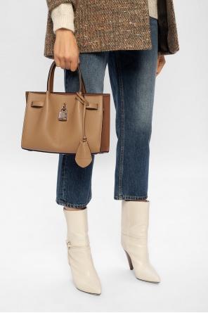 Leather shoulder bag od Lanvin
