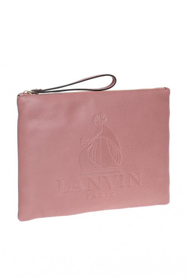 logo clutch lanvin vitkac shop online
